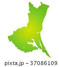 ベクター 茨城県 地図のイラスト 37086109