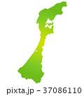 石川県地図 37086110