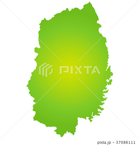 岩手県地図 37086111