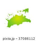 香川県地図 37086112