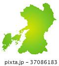 熊本県地図 37086183