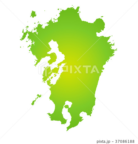 九州地図 37086188