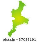 三重県地図 37086191