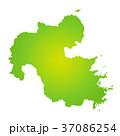大分県地図 37086254