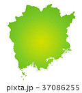 岡山県地図 37086255