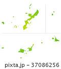 沖縄県地図 37086256