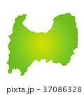 富山県地図 37086328