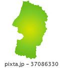 山形県地図 37086330