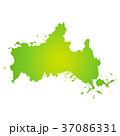 ベクター 山口県 地図のイラスト 37086331