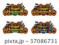 ハロウィン ロゴ 37086731