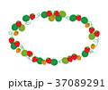 フレーム 枠 苺のイラスト 37089291