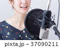 若い女性(ボーカルレッスン) 37090211