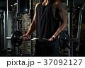 バーベルカール バーベル トレーニングの写真 37092127