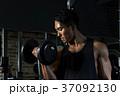ダンベルカール ダンベル トレーニングの写真 37092130
