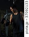 ダンベルカール ダンベル トレーニングの写真 37092133