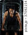 バーベル トレーニング 筋トレの写真 37092154