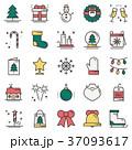 クリスマス ベクトル クリスマスツリーのイラスト 37093617