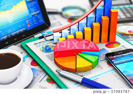 Business, finance and accounting concept 37093787