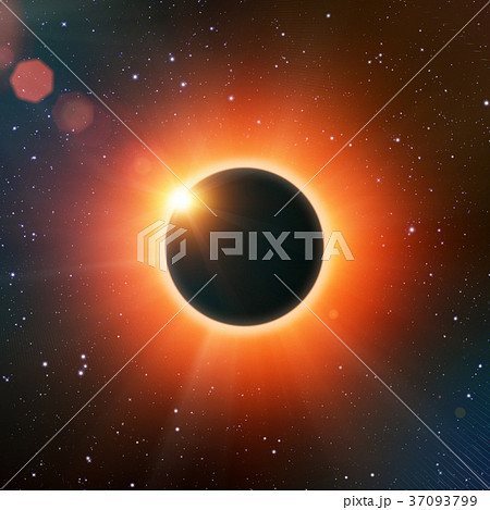 Solar eclipse 37093799