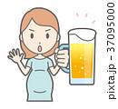 ベクター 妊婦 妊娠のイラスト 37095000