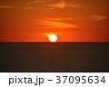 夕日 夕景 日本海の写真 37095634