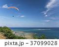ハンググライダー体験 沖縄 知念岬公園 37099028