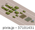 Military Parade Isometric Composition  37101431