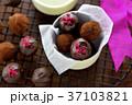 チョコレート チョコレートトリュフ 手作りの写真 37103821