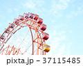 観覧車 青空 快晴の写真 37115485