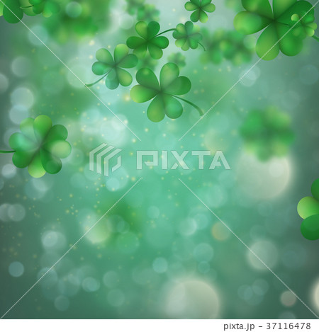 Abstract bokeh blur template with - trifolium 37116478