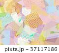 コラージュ 背景素材 模様のイラスト 37117186