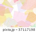 コラージュ フレーム 背景素材のイラスト 37117198