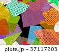 コラージュ フレーム 背景素材のイラスト 37117203