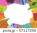 コラージュ フレーム 背景素材のイラスト 37117206