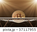 Gold Bitcoin On The Trampoline 37117955