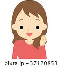 笑顔の女性 37120853