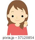 笑顔の女性 37120854