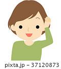 笑顔の女性 37120873