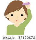 女性 ヘアケア ケアのイラスト 37120878