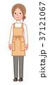 やや斜めを向いた女性 37121067