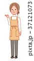 案内をする女性 斜め 37121073