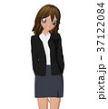 女性 ビジネススーツ ポーズのイラスト 37122084