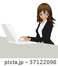 女性 ビジネスウーマン ビジネスのイラスト 37122096