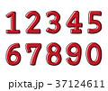 数字 数 ナンバーのイラスト 37124611
