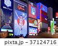 大阪府 道頓堀 夜景の写真 37124716