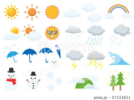 天気アイコン 37133621