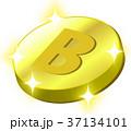 ビットコイン 仮想通貨 通貨のイラスト 37134101