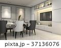 装飾 飾り 空間のイラスト 37136076