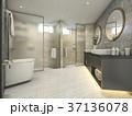 お風呂 浴室 風呂のイラスト 37136078
