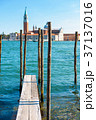 桟橋 運河 教会の写真 37137016